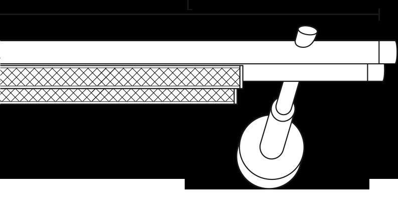 Karnisz panelowy Daria 2 biegi