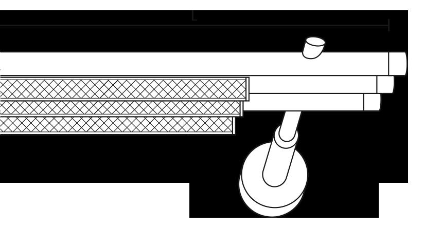 Karnisz panelowy Daria 3 biegi