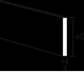 Listwa obciążająca do paneli